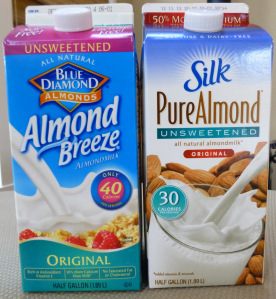 IS STORE-BOUGHT ALMOND MILK PALEO?
